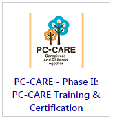 PC-CARE marketplace training button